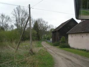 Sandweg von Borntin - Borzęcino Richtung Karlsdorf 2010