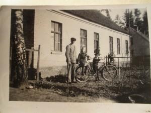 Das letzte Haus am Wald in Carlshöh um 1930
