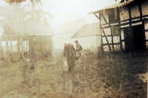 Rückseite des Bauernhauses Schubring 1927