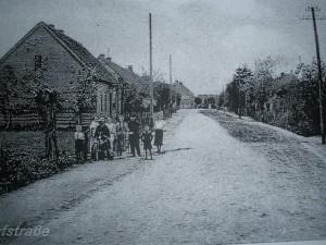 Dorfstraße Groß Krössin vor 1945