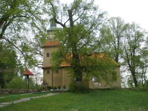 Ehemalige Ev. Kirche Balfanz Mai 2010