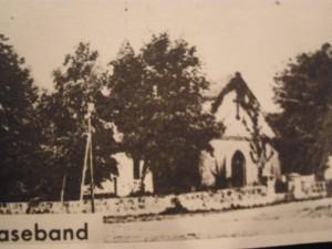 Ev. Kirche Naseband vor 1945