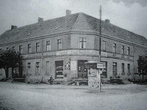 Das ehemalige Gasthaus Sendelbach in Groß Krössin vor 1945