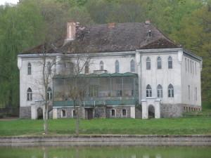 Vorderansicht Schloss Balfanz