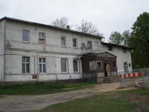 Früher das Gutshaus auf dem Gut Carlshöh bei Groß Krössin