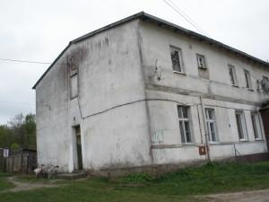 Seitenansicht eines ehemals schönen Gutshaus auf Carlshöh/ Kreis Neustettin