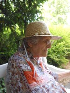 Irmgard Zimmermann geb. Gehrt im Sommer 2014