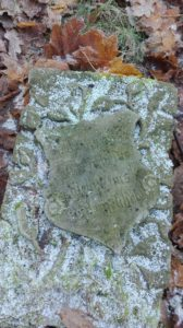 Alter Grabstein Krosino(aus Groß Krössin)